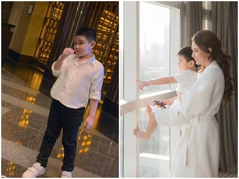 Con trai lon phong phao cua MC Quynh Chi va chong cu Van Chuong