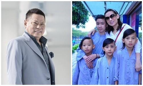 Bo cu Ngoc Trinh hua cham lo cho 23 con nuoi cua Phi Nhung