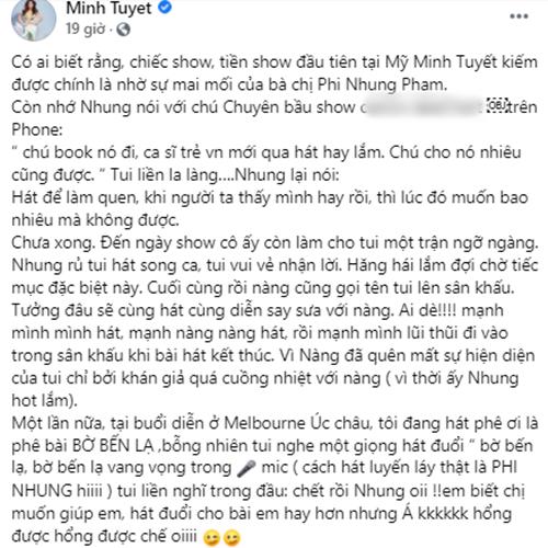 Bi mang gia tao tiec thuong Phi Nhung, em gai Cam Ly dap tra