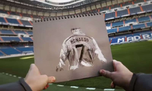 1.100 buc ve tai hien su nghiep cua Cristiano Ronaldo