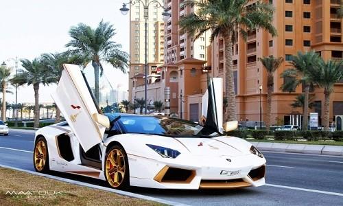 Me man Lamborghini Aventador Roadster do vang that sang chanh