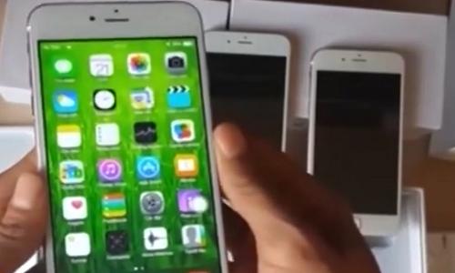 Trai nghiem iPhone chay he dieu hanh... Android la lam
