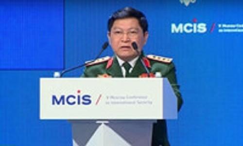 Dai tuong Ngo Xuan Lich len duong tham huu nghi chinh thuc Trung Quoc