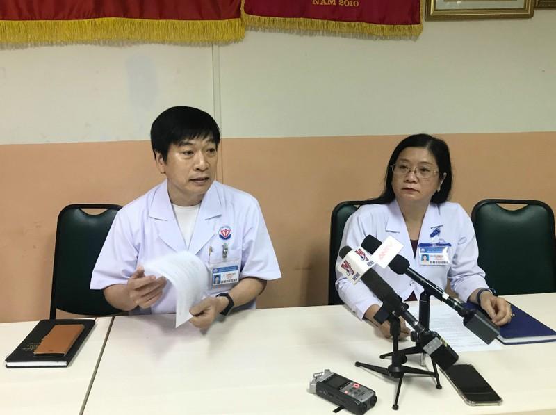Giam doc no sung tu sat o BV Trung Vuong tung co y dinh nhay lau