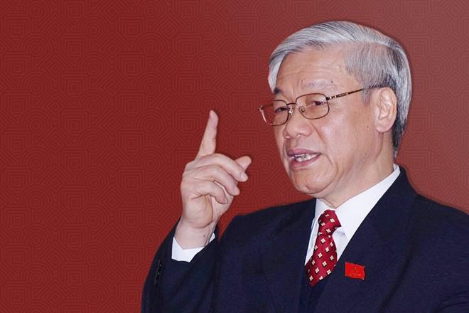 'Tong bi thu Nguyen Phu Trong du uy tin lam Chu tich nuoc'