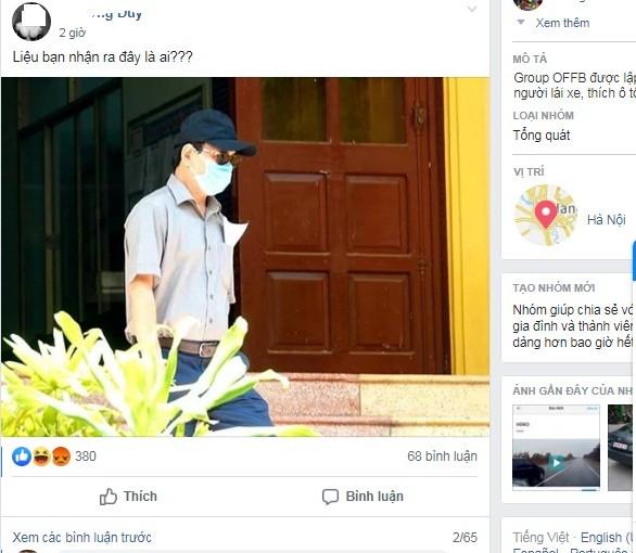 Cu dan mang xon xao hinh anh Nguyen Huu Linh den toa