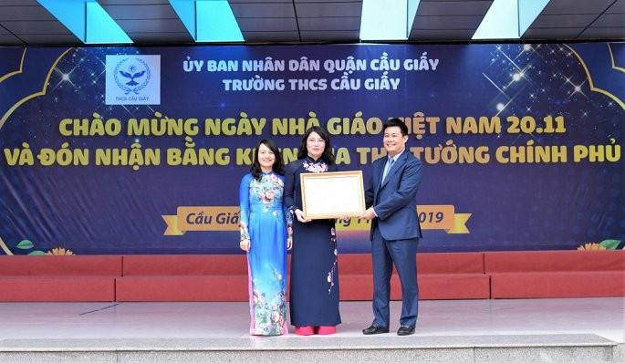 Ngoi truong duoc nhan bang khen cua Thu tuong trong ngay Nha giao Viet Nam-Hinh-2