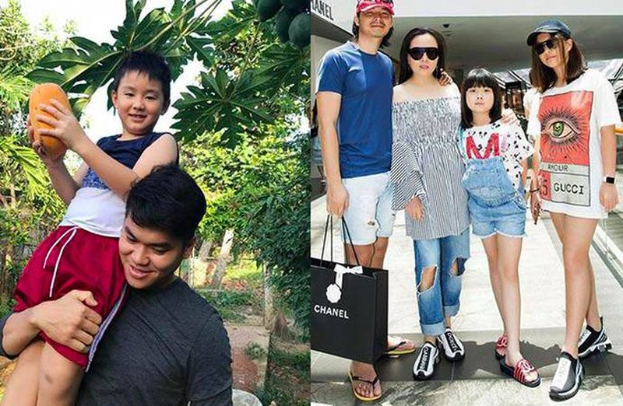 He lo cuoc song cua con trai rieng Quach Ngoc Ngoan va 2 con gai Phuong Chanel