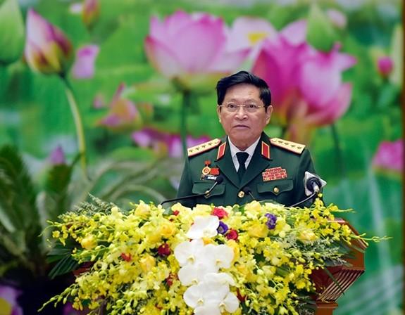 Tong Bi thu, Chu tich nuoc du khai mac Dai hoi Dang bo Quan doi lan thu XI-Hinh-2