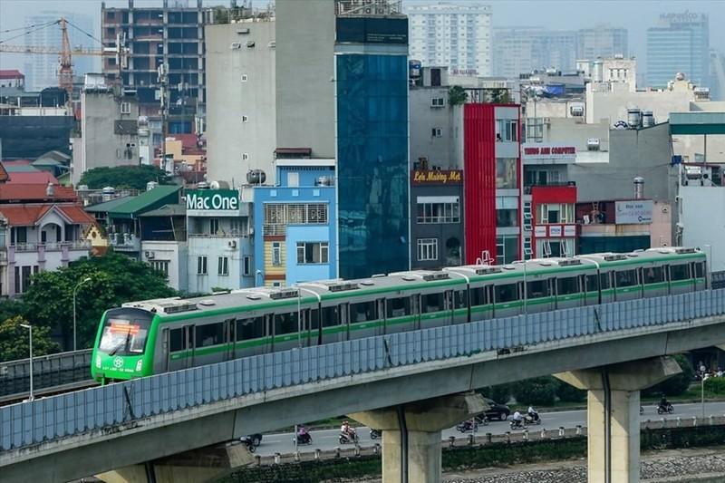 Duong sat Cat Linh - Ha Dong chay thu 13 doan tau vao ngay mai 12/12