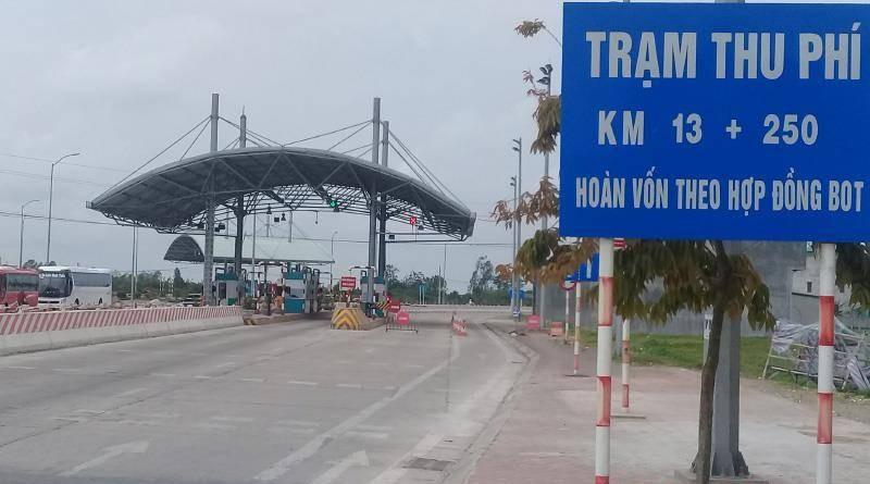 Tasco va 6 tram BOT se bi dung thu phi do cham thu phi tu dong