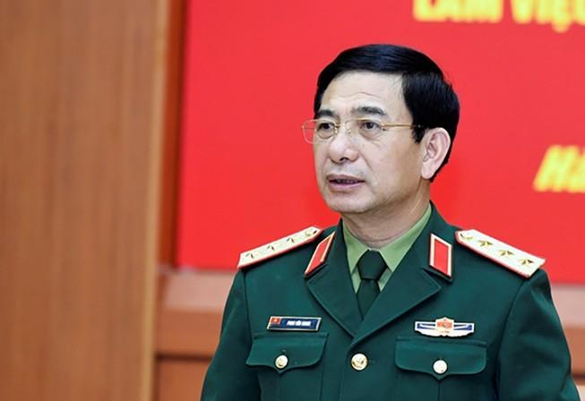 Nhat tri gioi thieu Bo truong Bo Quoc phong Phan Van Giang ung cu Quoc hoi