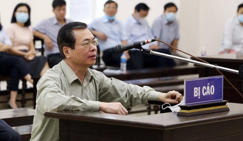 Cuu Bo truong Vu Huy Hoang bi tuyen an 11 nam tu