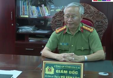 Nguyen Giam doc Cong an tinh Gia Lai bi ky luat khien trach