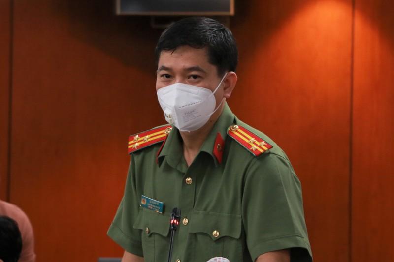 Cong an TP.HCM noi ve viec ap dung 'the xanh, the vang'