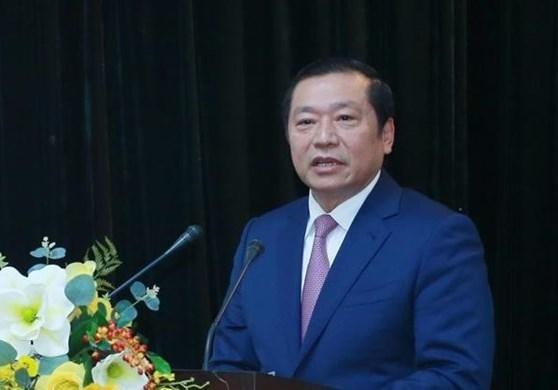 Chan dung tan Pho ban Tuyen giao Trung uong Lai Xuan Mon