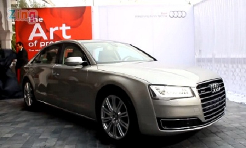 Soi chi tiet Audi A8L cua Ho Ngoc Ha gay tai nan