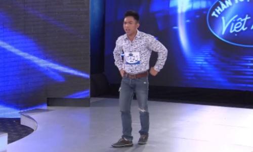 Thi sinh hai huoc nhat vong loai Vietnam Idol 2015
