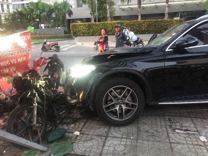 Xe Mec tong thuong vong nam GrabBike, nu TVHK: Lai lich tai xe?