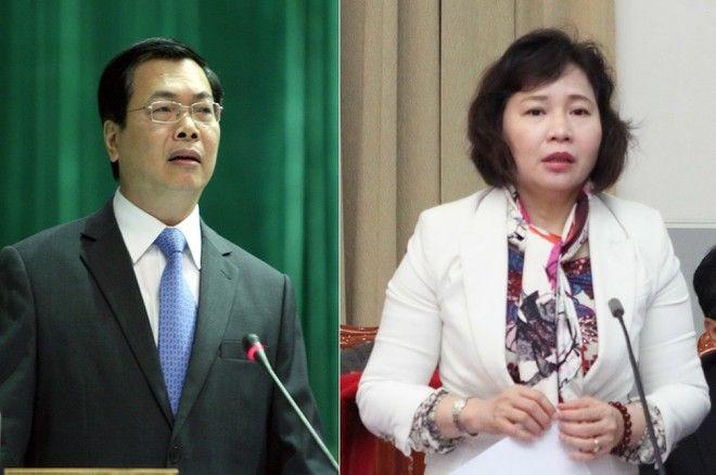 Vi sao ong Vu Huy Hoang, ba Ho Thi Kim Thoa bi khoi to van tai ngoai?