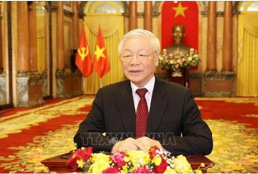 Tong Bi thu, Chu tich nuoc Nguyen Phu Trong phat bieu chao mung AIPA 41