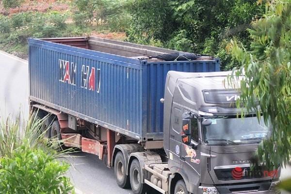 Xe cat noc container cho cat dap ngon 'lam mua lam gio', CSGT bo tay-Hinh-2