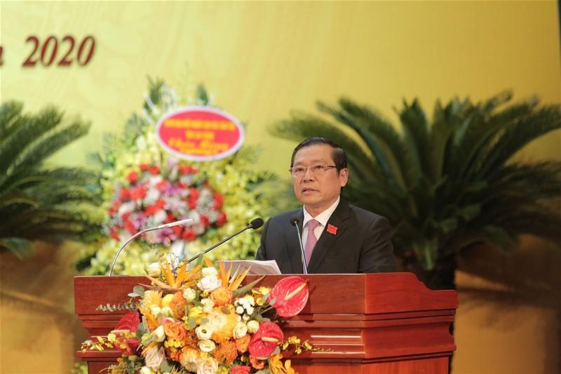 Ong Lai Xuan Mon tai dac cu Bi thu Tinh uy Cao Bang nhiem ky 2020-2025