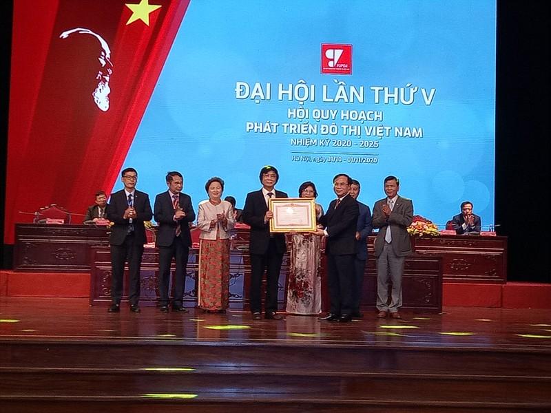 Ong Tran Ngoc Chinh tiep tuc duoc bau lam Chu tich VUPDA khoa V nhiem ky 2020-2025