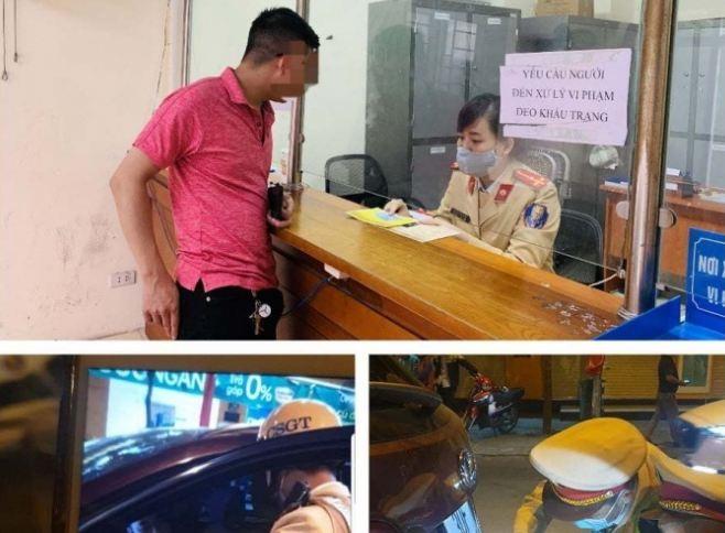 Khong chiu kiem tra nong do con, tai xe bi de nghi phat 40 trieu
