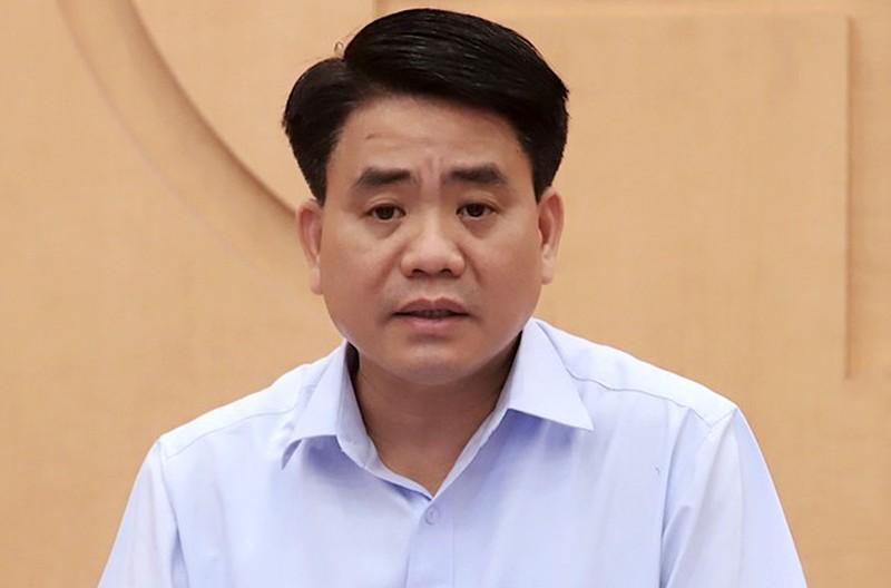 An dinh ngay xet xu cuu Chu tich UBND TP Ha Noi Nguyen Duc Chung