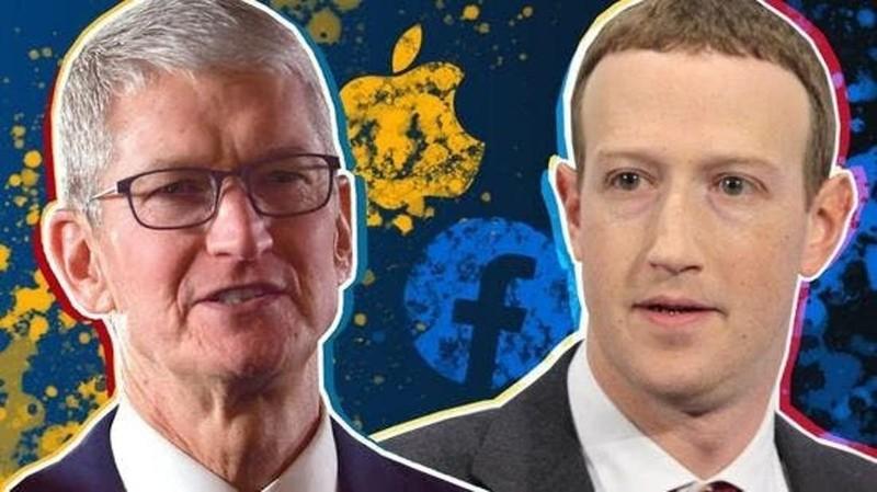"Facebook ""khau chien"" voi Apple"