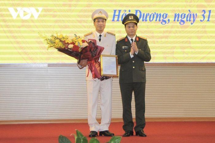 Cong an tinh Hai Duong, Bo Tu lenh Canh sat co dong co tan lanh dao