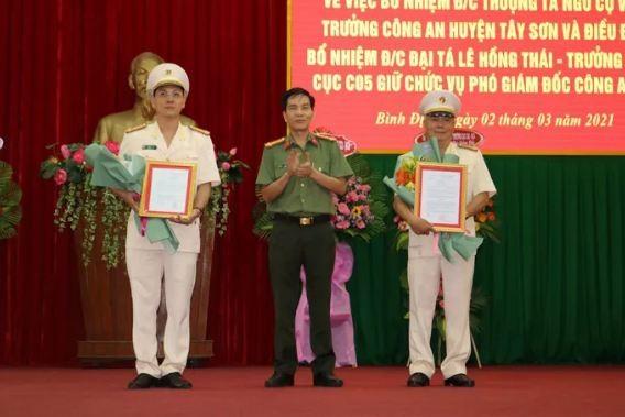 Binh Dinh co hai tan Pho giam doc Cong an tinh