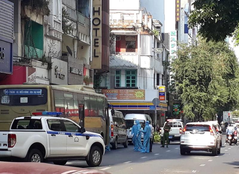 Phat hien 35 nguoi Trung Quoc nghi nhap canh trai phep o khach san trung tam Sai Gon-Hinh-2
