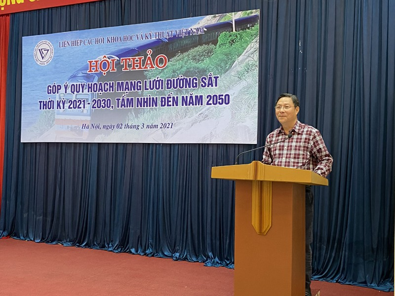Tiep can lap quy hoach mang luoi duong sat Quoc gia giai doan 2021-2030