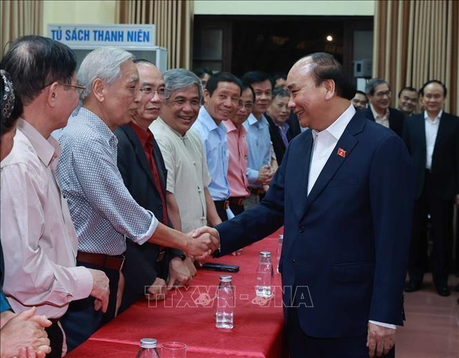 Cu tri nhat tri gioi thieu Chu tich nuoc Nguyen Xuan Phuc ung cu dai bieu Quoc hoi