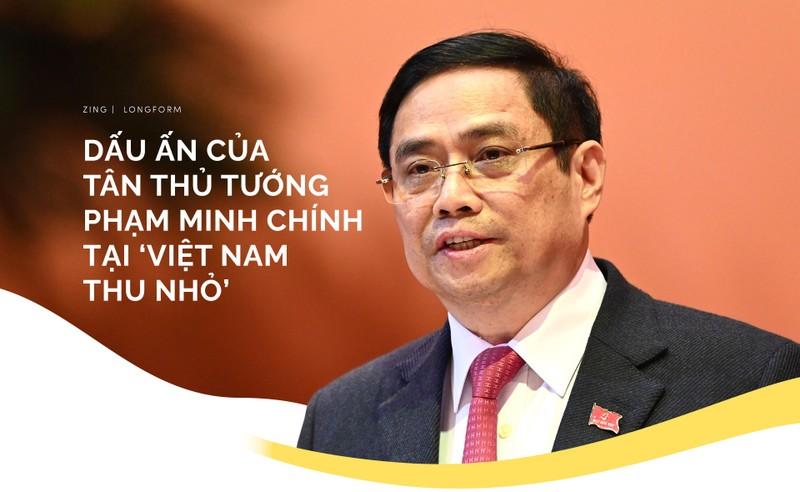 """Dau an cua tan Thu tuong Pham Minh Chinh tai """"Viet Nam thu nho"""""""