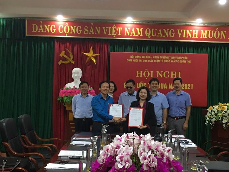 Vinh Phuc: Giao uoc thi dua Khoi Mat tran to quoc va cac doan the nam 2021-Hinh-2