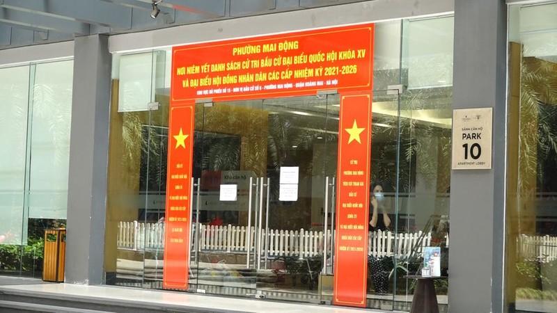 Phong toa tang 24 Park 10 Times City o Ha Noi
