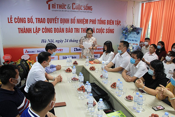 Bo nhiem ong Nguyen Danh Chau lam Pho Tong bien tap Bao Tri thuc va Cuoc song-Hinh-4