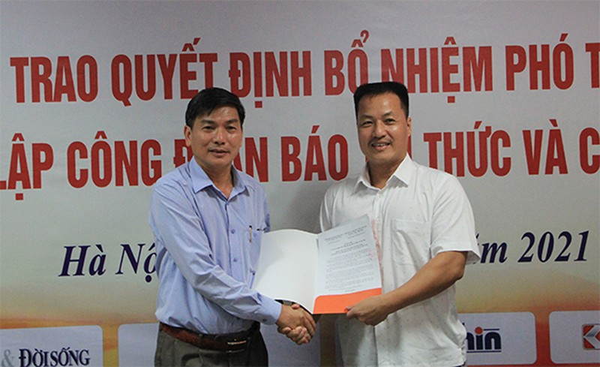 Bo nhiem ong Nguyen Danh Chau lam Pho Tong bien tap Bao Tri thuc va Cuoc song-Hinh-5