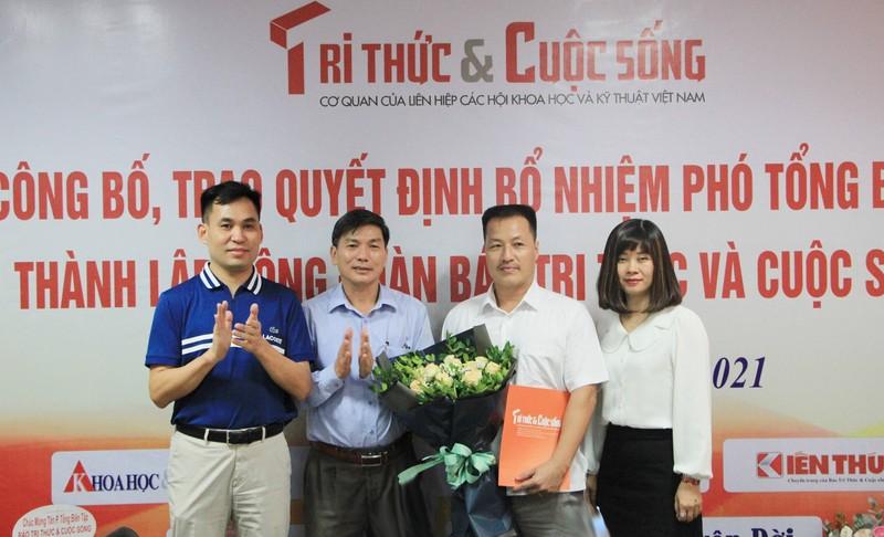 Bo nhiem ong Nguyen Danh Chau lam Pho Tong bien tap Bao Tri thuc va Cuoc song-Hinh-6