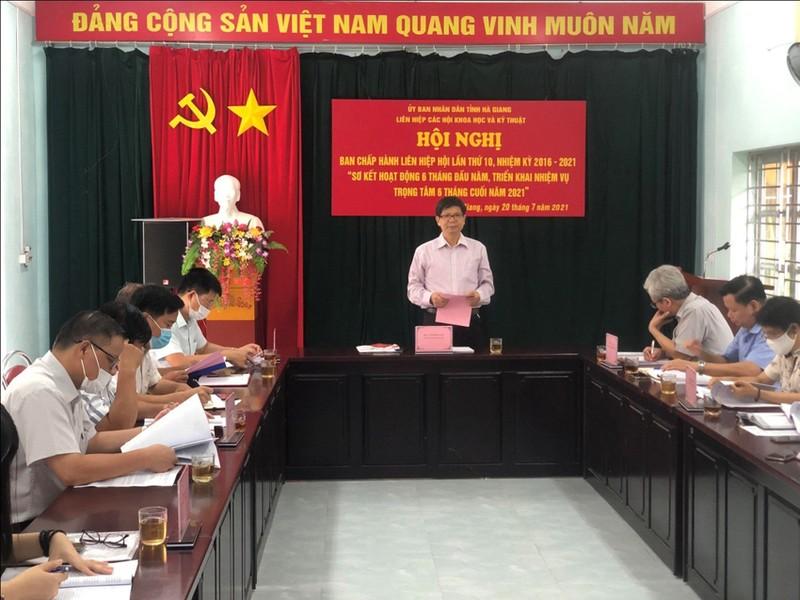 Ha Giang: Hoi nghi Ban chap hanh Lien hiep Hoi lan thu 10