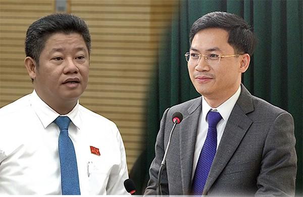 Pho Chu tich HN Nguyen Manh Quyen, Ha Minh Hai bi ky luat