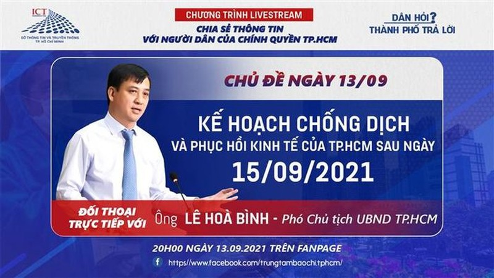 Dan hoi - Thanh pho tra loi: Pho Chu tich TP HCM len