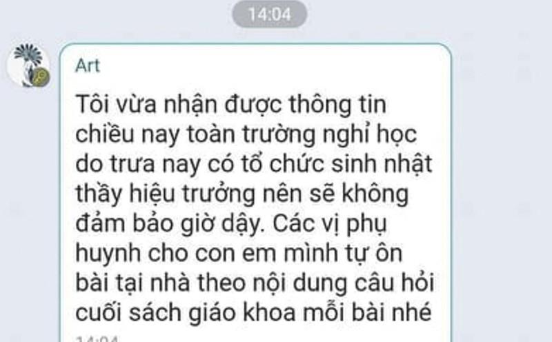 Thuc hu thong tin hoc sinh Yen Bai nghi hoc vi sinh nhat Hieu truong