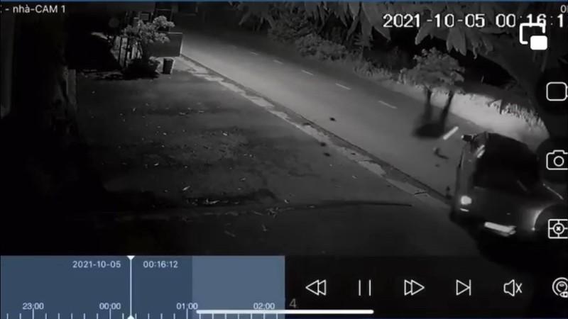 Suc khoe Canh sat co dong bi xe taxi tong trong thuong gio sao?