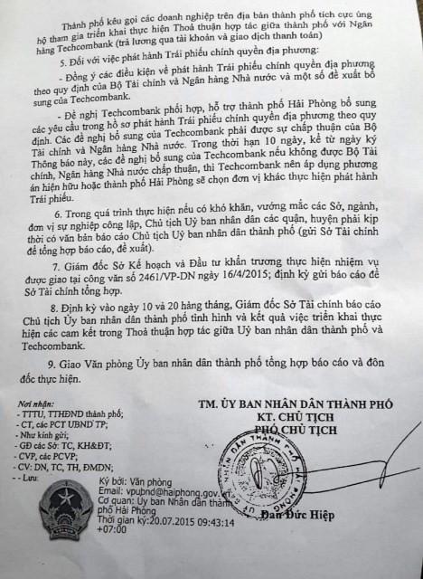 "Hai Phong gui van ban ""uu tien"" Techcombank: Pham luat canh tranh?-Hinh-2"