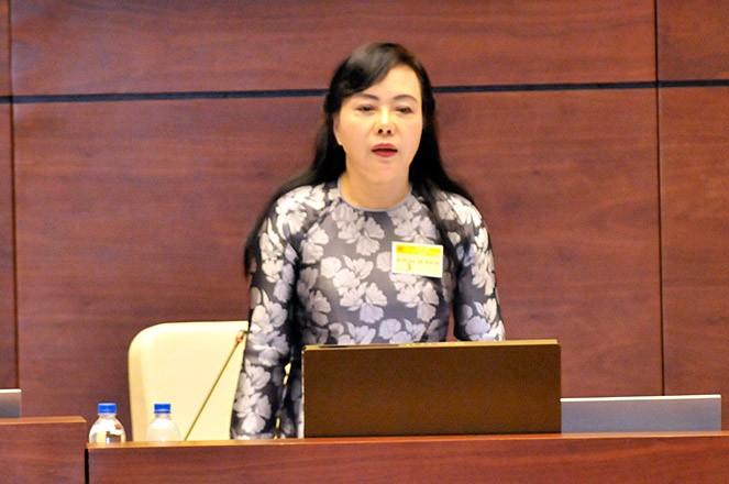 Chat van Bo truong Bo Y te: Nong nghi truong ve gia thuoc