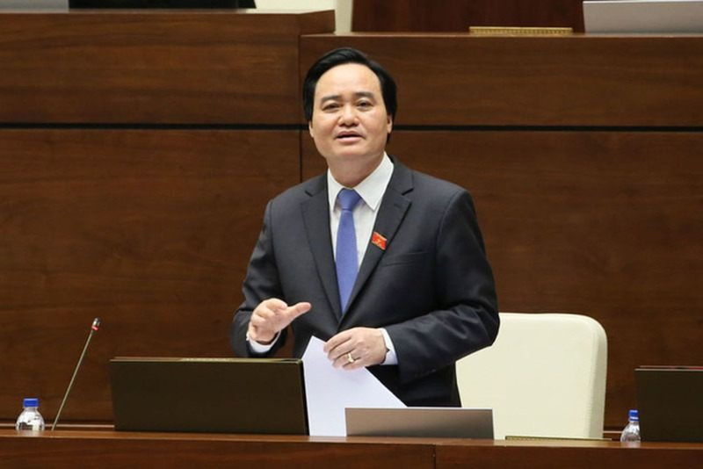 Bo truong Phung Xuan Nha noi gi ve gian lan thi cu THPT Quoc gia?